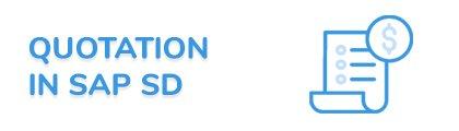 Quotation in SAP SD Fiori App