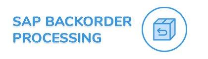 SAP Backorder Processing Fiori App